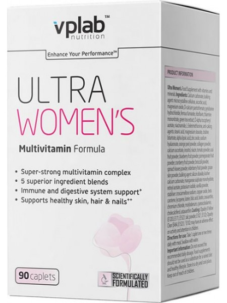 VP Laboratory Ultra Women's Multivitamin Formula (180 таблеток)