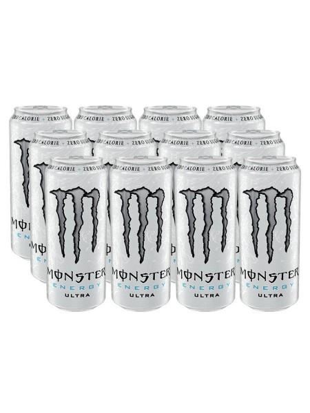 Monster Energy Zero Ultra БЕЗ САХАРА (24 шт)