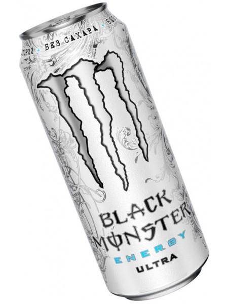 Monster Energy Zero Ultra БЕЗ САХАРА  (449 ml)