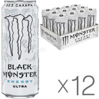 Monster Energy Zero Ultra БЕЗ САХАРА (12 шт)