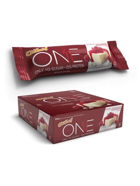 Oh Yeah! One Bar White Chocolate Raspberry (60 gramm)