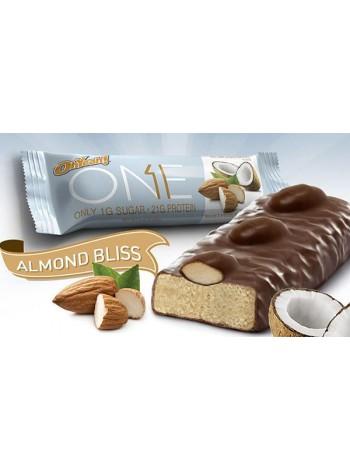 920, Oh Yeah! One Bar Almond Bliss (60 gramm) , , 2 400 RUB, Almond Bliss, OhYeah!, Протеиновые батончики