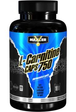 Maxler L-carnitine Caps 750 (100 caps)
