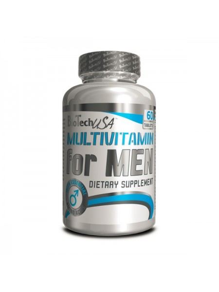 Biotech USA Multivitamin for men (100 tabs)