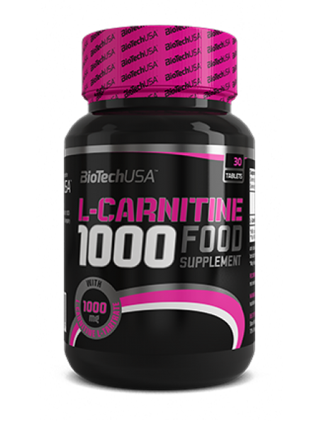 Biotech USA L-CARNITINE 1000 (30 tabs)