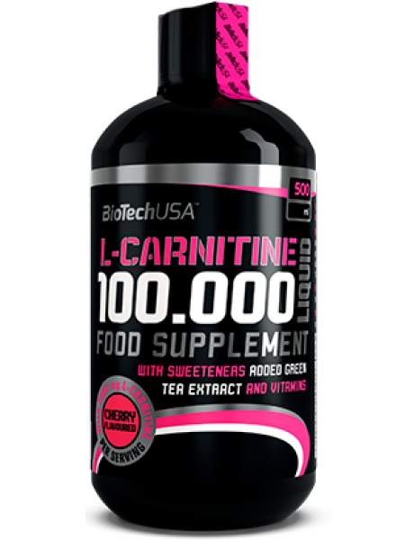Biotech USA L-Carnitine Liquid 100.000mg (500ml)