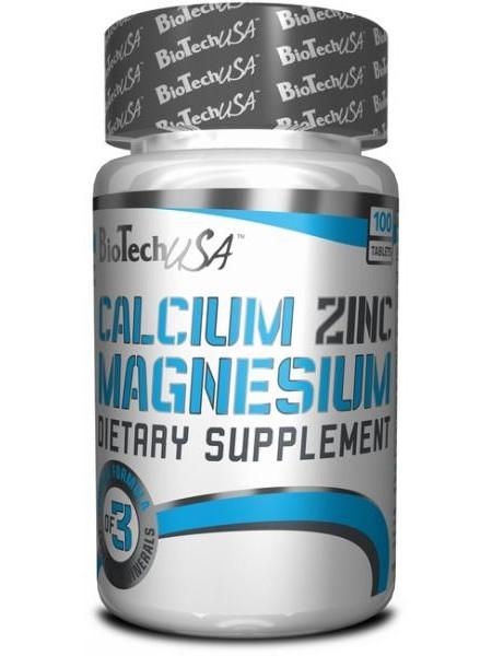Biotech USA Ca-Mg-Zn (100 tabs)