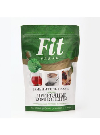 Fit Parad - Заменитель сахара №7 Дой-Пак (400 грамм)