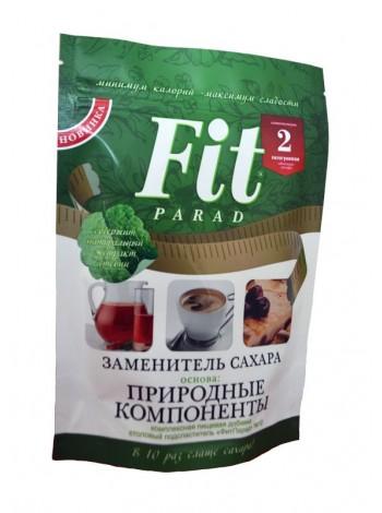 1026, Fit Parad - Заменитель сахара №10 Дой-Пак (200 грамм), , 430 RUB, Заменитель сахара №10 Дой-Пак, Fit Parad , Сахарозаменители