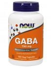1185, NOW Foods  GABA 750 mg (100 caps), , 1 100 RUB, GABA 750 mg, NOW Foods, Аминокислоты