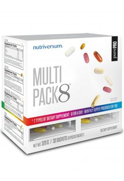 Nutriversum Multi Pack 8 + Q10 (30 packs)