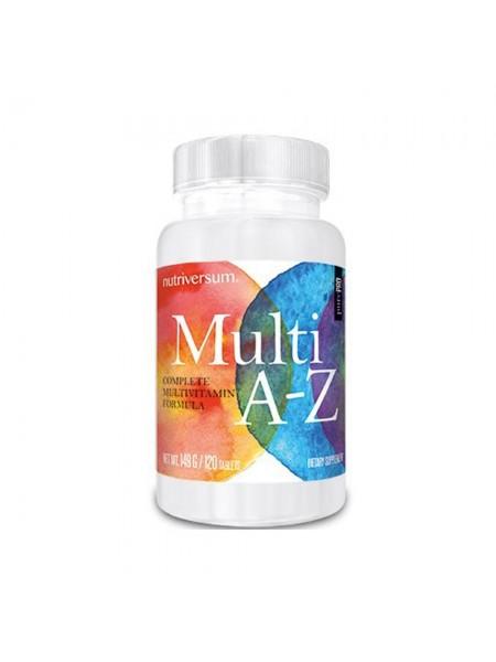 Nutriversum PurePRO Multi A-Z Nutrivers (120 таб.)