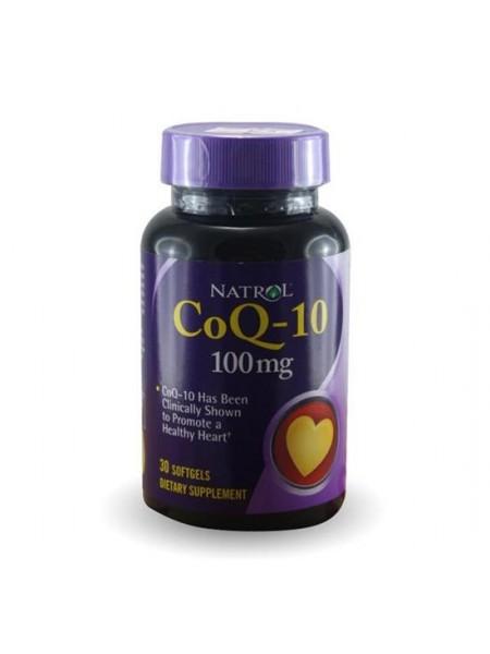 Natrol CoQ-10 100 mg (30 sgels)