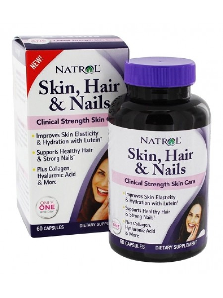 Natrol Skin Hair Nails Women`s (60 caps)