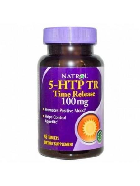 Natrol 5-HTP TR 100 mg (45 tab)