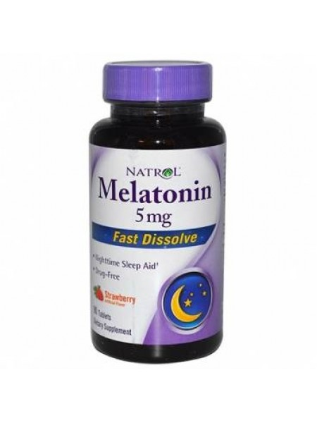 Natrol Melatonin Fast Dissolve 5 mg (90 tabs)