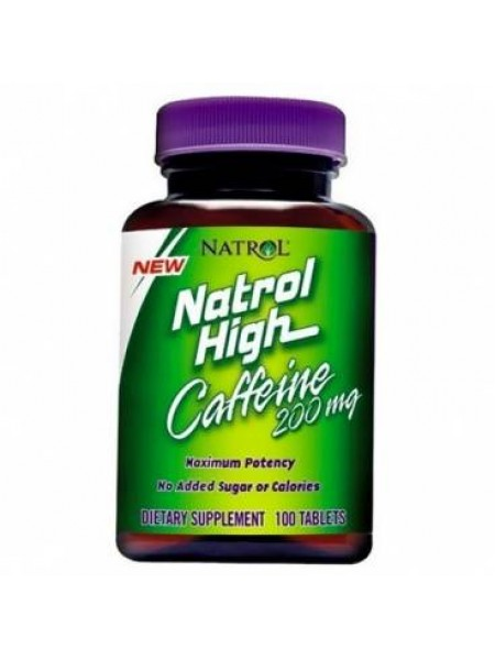 Natrol High Caffeine 200 mg (100 tabs)