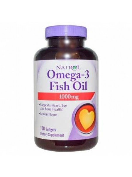Natrol Omega 3 Fish Oil 1000 mg (90 caps)