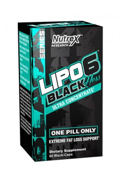 Nutrex Lipo-6 Lipo-6 Black Hers Ultra Concentrate (60 капс)