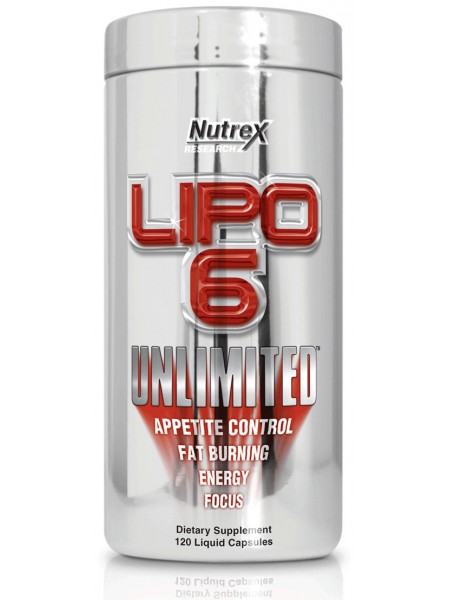 Nutrex Lipo-6 Unlimited (120 капсул)