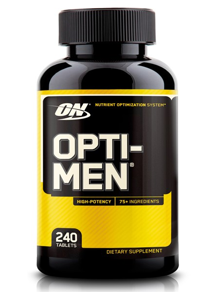 Optimum nutrition Opti - Men USA (240 caps)  на 3 месяца