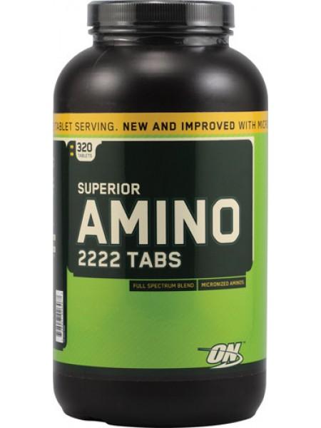 Optimum nutrition Superior Amino 2222 (tabs) срок 03/18 включительно
