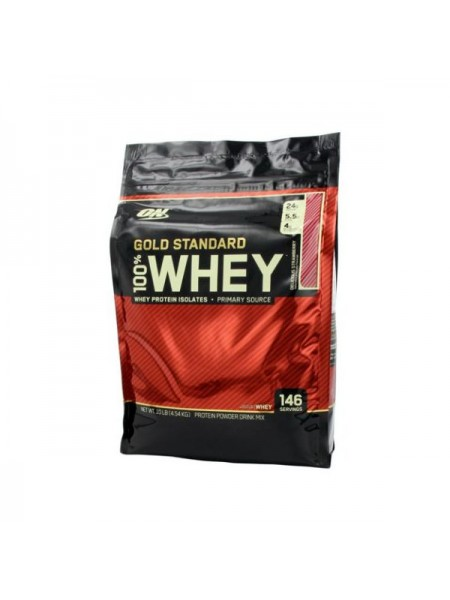 Optimum nutrition 100% Gold Standard Whey (4560 gramm) - exp 01/2020
