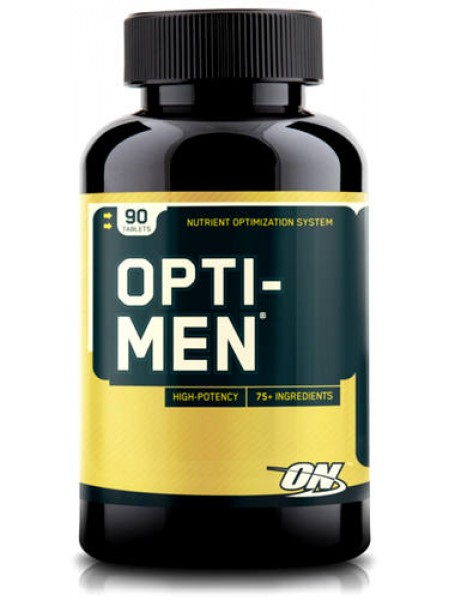Optimum nutrition Opti - Men USA (90 caps)  на 1 месяц