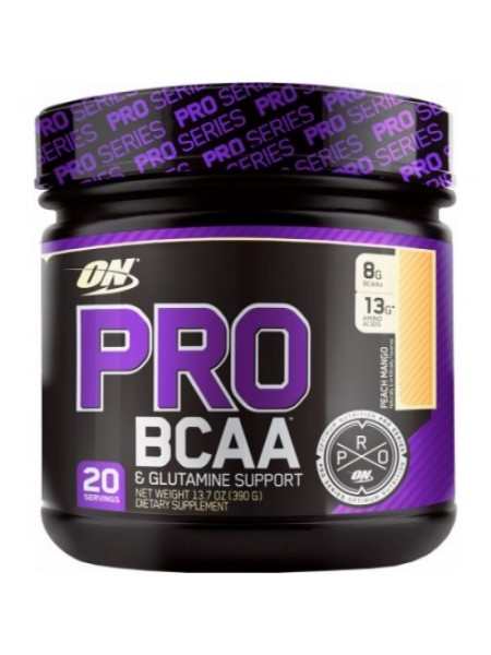 Optimum Nutrition BCAA PRO + Glutamine Support  (390 gramm)