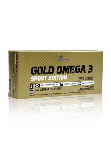 Olimp Gold Omega 3 Sport Edition PREMIUM  (120 капсул)