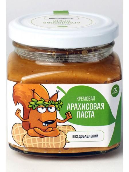 ORGANIC Арахисовая паста кремовая (400 g)