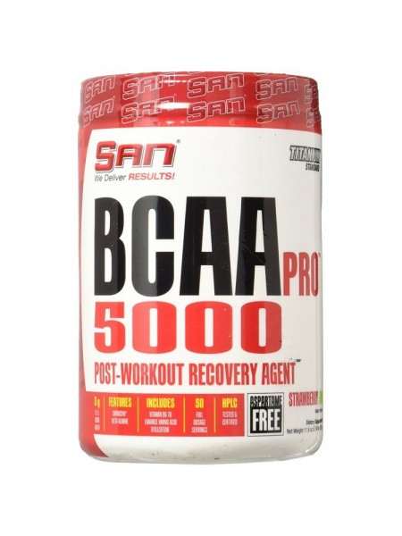 SAN BCAA-PRO NEW 5000 (340 g) - Aspartame Free