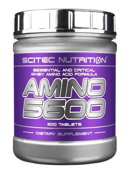 Scitec Nutrition Amino 5600 (200 шт)