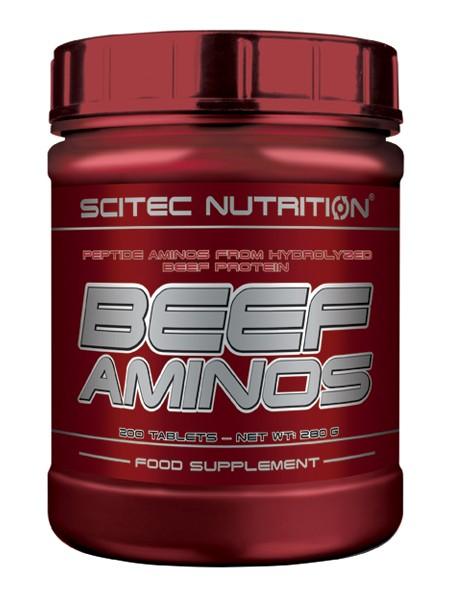 Scitec Nutrition Beef Aminos (200 tabs)