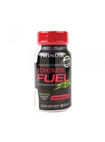 839, Twinlab Yohimbe Fuel (50 caps) , , 750 RUB, Yohimbe Fuel, Twinlab, Повышение тестостерона 18+