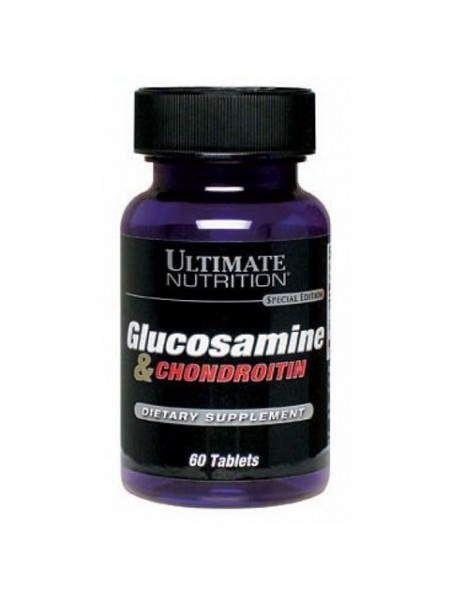 Ultimate Nutrition Glucosamine & Chondroitin (60 tabs)