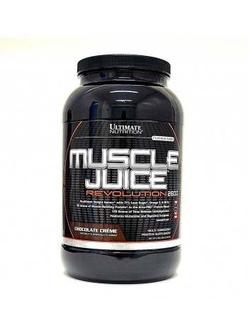 963, Ultimate Nutrition Muscle Juice Revolution 2600 (2120 gramm), , 1 800 RUB, Juice Revolution 2600 , Ultimate Nutrition , Гейнеры