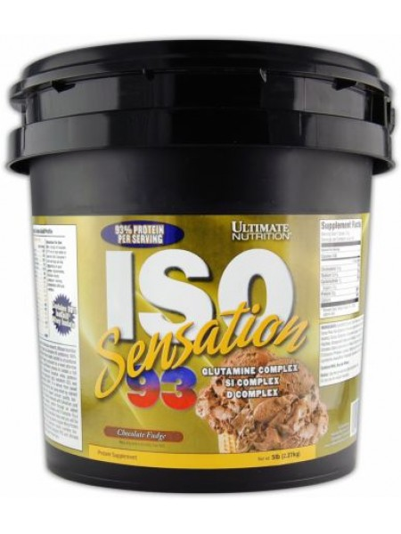 Ultimate Nutrition Iso Sensation 93%   (2275 gramm) Ликвидация бренда