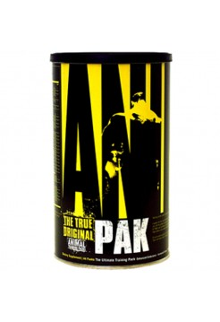 Universal nutrition Animal Pak (44 packs) + пробник протеина Animal