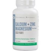 Universal Nutrition Calcium Zinc Magnesium (100 таб)