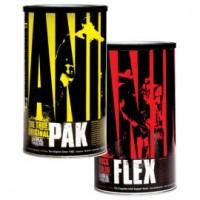 Universal Nutrition Animal Pak и Animal Flex  ( 44+ 44) + футболка Animal  в подарок