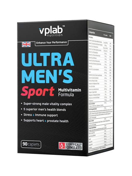 VP Laboratory Ultra Men's Sport Multivitamin Formula (90 таблеток)