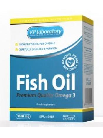 VP Laboratory Omega 3 Fish Oil 1000mg (60 капс)