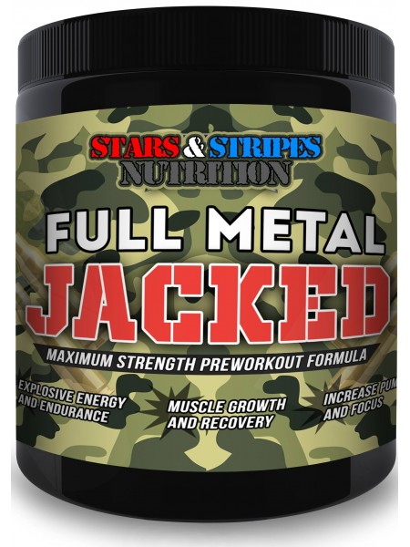Stars and Stripes Nutrition Full Metal Jacked (30 порций)