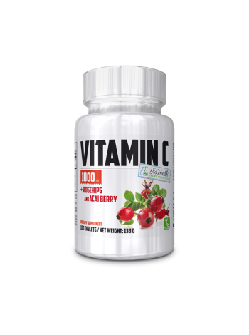 Nutriversum Sport Nutrition Vitamin C 1000 + Rosehips and ACAI BERRY (100 таб.)